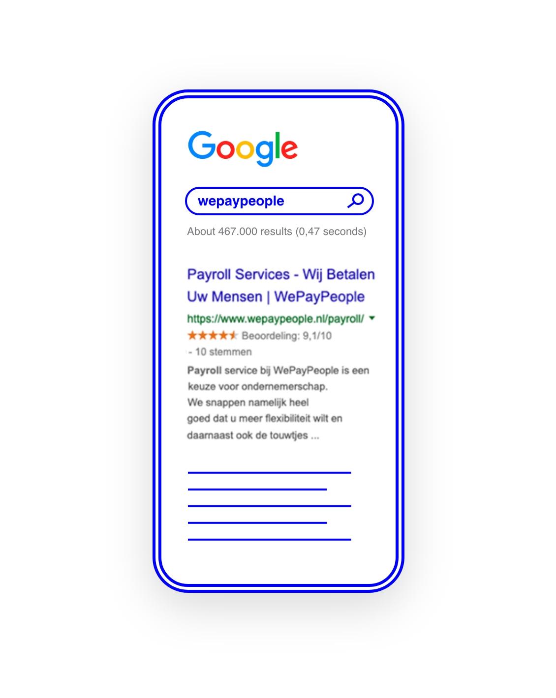 WePayPeople in Google